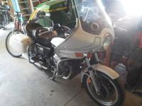 1976 Moto Guzzi V-1000 Convert. It is a L.A.P.D. It is