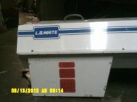 L.B. White Torpedo Heater ModelNo. CP3880BSP Serial No.