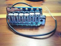 L Baggs Stratocaster tremelo bridge. Switch over from