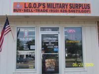 Description We are a Military Surplus store and