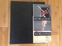 Lot of dance history books (3 books) PRICES BETWEEN $20