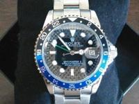 $140 O.B.O. This new Rolex GMT is fully automatic
