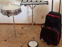 Up for sale is a Vic Firth mix Bells and Snare Drum