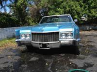 1970 Cadillac Deville Convertible Low miles, Excellent