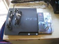 "we have for """"SELLING"""" PLAYSTATION 3 console - power"
