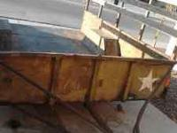 I am selling my military 1 1/2 ton Cargo trailer. The