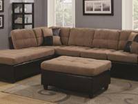 This sectional sofa was designed to bring out the best