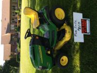 A L130 John Deer Riding Mower for sale for $850. 48""
