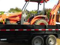 LATE 2009 KUBOTA BACKHOE & FRONTEND LOADER WITH 200