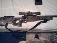 I have an L96 airsoft sniper rifle. It is a bolt
