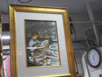 .  Signed Lithograph with Certification of
