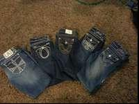 I have several pairs of L.A. idol USA jeans size 5. One