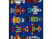Your child will surely love the robot graphics of this