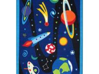 A solar system rug in other words. Your child will