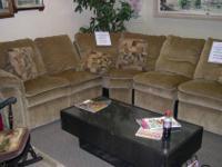 LA-Z-BOY 7 Piece Sectional Sofa. Retails for $4000. Our