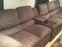 I am selling my La-Z-Boy sectional that I acquired in