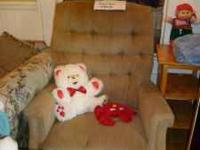 Older La-z-boy recliner in really good condition. Very