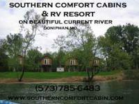 Get your Cabin or RV Hookup now for Labor Day
