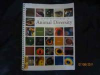College textbook Laboratry Studies in Animal Diversity.