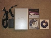 I have a LaCie CD burner up for sale. It looks brand