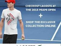LACOSTE selected The Gulf Coast Super Mall to bring you