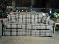 "Obtain a little ""country"" with this Lacrosse Sofa."