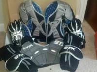 Boys/high school Lacrosse pad set hardly used by me