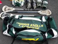 Description: A lot of lacrosse gear for sale packaged