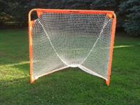 ONE YEAR OLD NET USED ONCE KID QUIT LAX. PAID $150 SELL