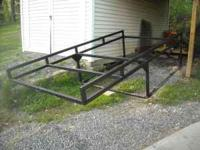 Ladder rack, heavy duty, excellent shape, removable