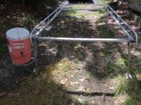 Aluminum ladder rack for complete size truck with 8