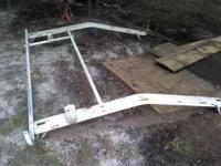 took ladder rack off old phone van 1994 chevy van call