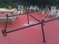 Truck ladder racks all parts are there. Contact pat @