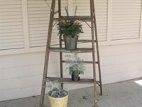 Ladder ? Vintage Wood Step Ladder 051813 Pick it up
