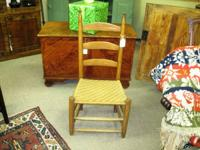 American White Oak Shennandoah Valley Ladderback Chair