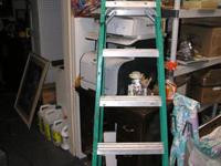 selling off 6' step ladders -- $40 each 8' step ladder
