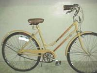 """This bike is an """"Open Road"""" distributed by Montgomery"""