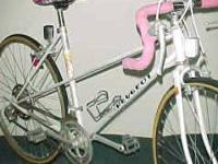 This is a mid 80's Iseran model with the mixte style