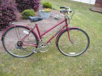 "Ladies 26"" Free Spirit 10 Speed. Rides Good. New tires."