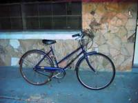 Classic ladies 3 speed Sears Free Spirit bike in very