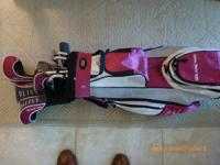 "Ladies ""Solaire Bliss"" Golf Clubs. Used only 5 times!"