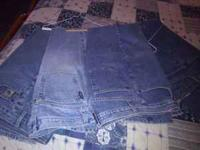 Have 3 Cruel Girl Jeans 11 Long,One Cinch 32x36...All