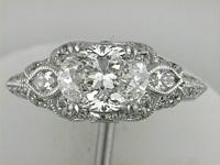 Two (2)marquise diamonds 0.17 ct. Forty six (46) round