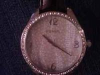 Genuine water resistant fossil watch. Beautiful.