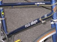 ladies fuji allego bike with fuji valite tubing frame