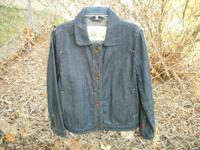 Ladies GAP jean jacket  size M   new / never