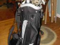 Nice set of Ladies golf clubs. The bag is a Knight