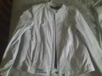 I have a new, never worn, white leather Harley-Davidson