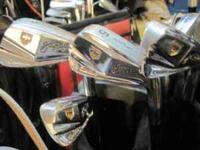 A GREAT SET OF JUDY RANKIN GOLF CLUBS. IRONS
