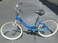 Ladies Next bike in Blue, Aluminum, Single-speed